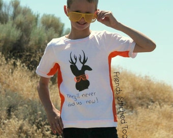Jackalope Tee PDF Sewing Pattern