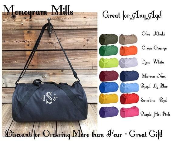 fb0eb8030c9c Monogrammed Duffel Bags - New Item!