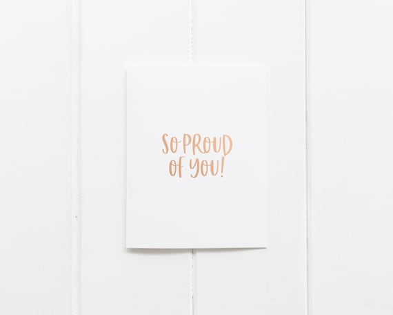 We Also Have Birthday Cards//Christmas Cards//Thank You Cards Foiled//Wrapped Well Done Card Congratulations Card