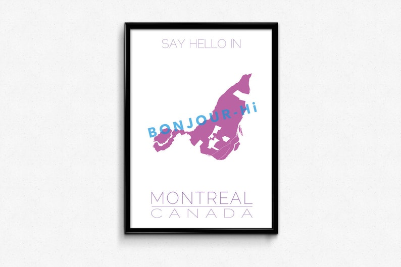 Say hello in Montreal image 0