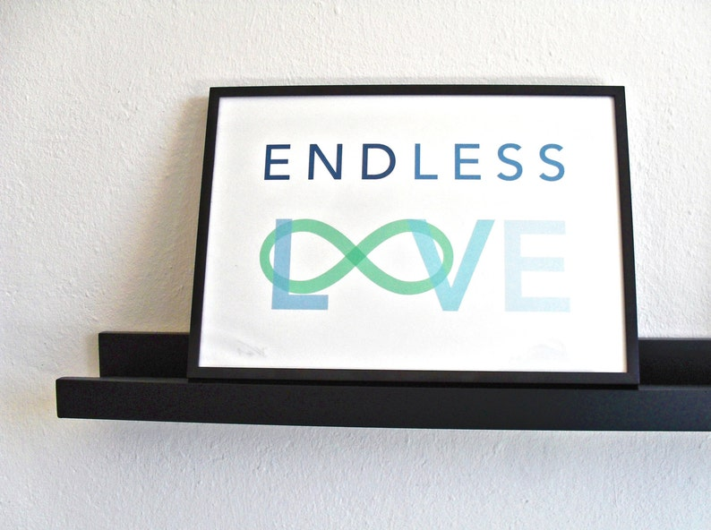 Endless Love Poster  Scandinavian Winter Edition image 0