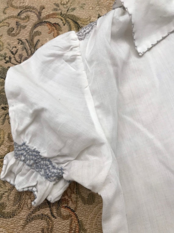 Lovely girls vintage Hungarian embroidered peasan… - image 6