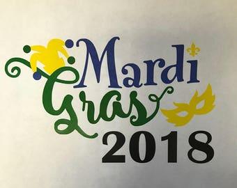 Mardi Gras shirt - Mardi Gras 2018