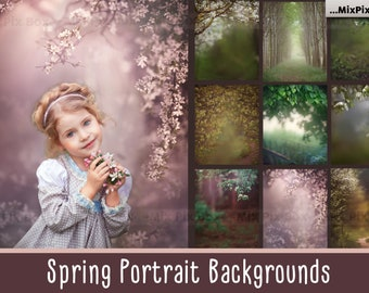 BUNDLE OF 3 DIGITAL painterly background portait studio backdrop creative background fine art