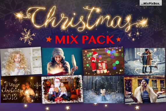 Christmas Lights Overlay Png.Christmas Overlays Photoshop Lights Snow Pack Winter