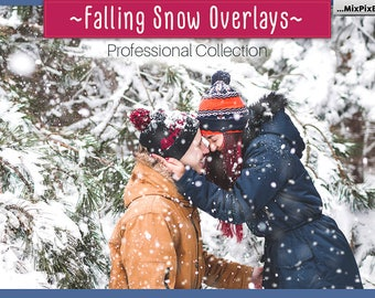 Snow overlays, Falling snow, Snow, Winter, Snowflakes, realistic, natural