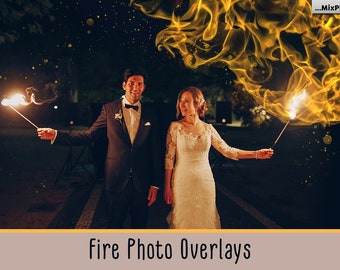 Fire Photoshop Overlays, Photo Overlays, Flame, Flames, Campfire, Bonfire backgrounds, Sparklers, Fireplace, Candle, Light, Fire