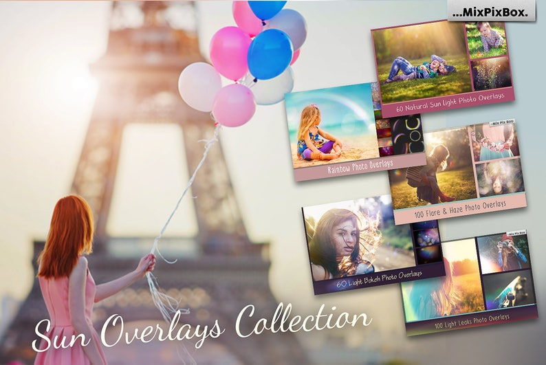 8689a75d5ff0 Sun Overlays Collection Sun Lens Flare Overlays Sun Effect