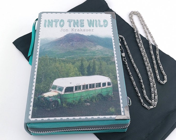 Book Clutch INTO THE WILD