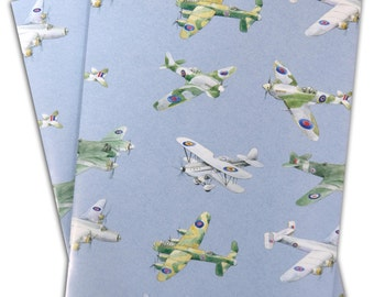 Plane, aeroplane, airplane wrapping paper