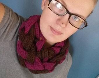 Crochet Braid Scarf