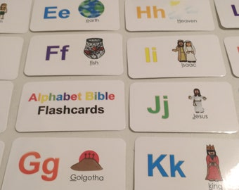 Bible flash cards | Etsy