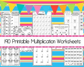 Multiplikation | Etsy
