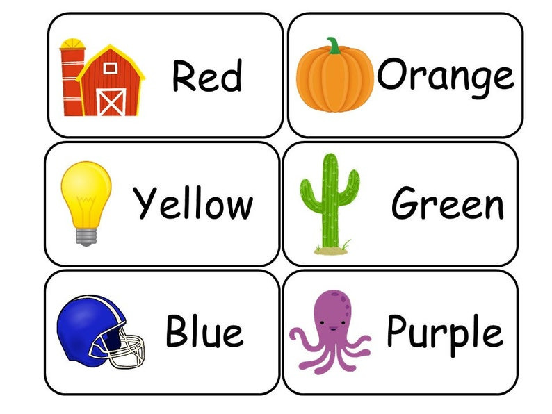 photo regarding Colors Flashcards Printable known as 20 Printable Shades Flashcards. Preschool-3rd Quality insightful discovering game.