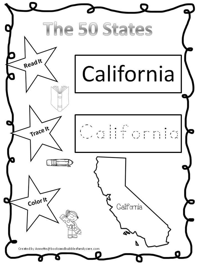 50 States Curriculum Download  Preschool-Kindergarten  Worksheets and  Activities in PDF files