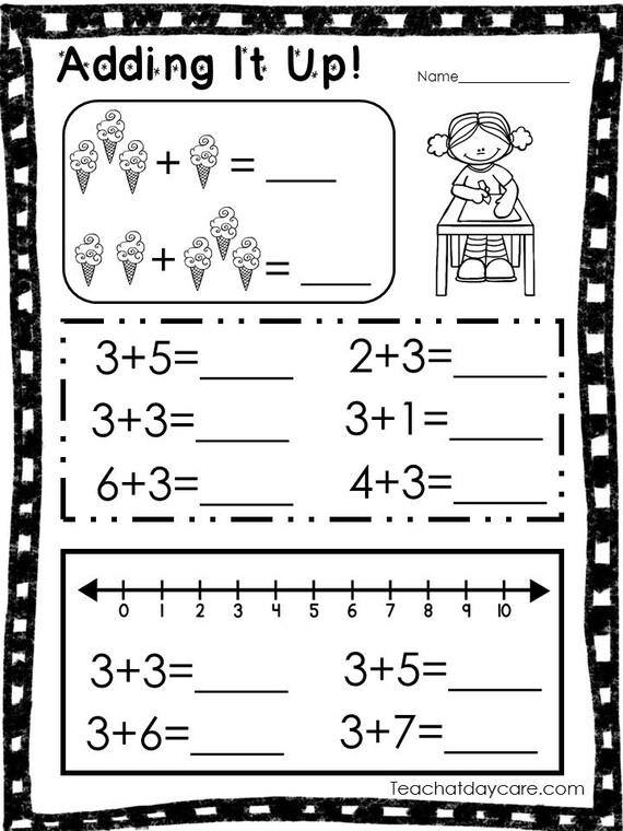 Math Curriculum herunterladen. Vorschule-Kindergarten. | Etsy