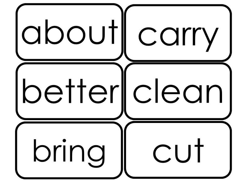photo about Sight Word Flashcards Printable named 41 Printable Dolch 3rd Quality Sight Phrase Flashcards.
