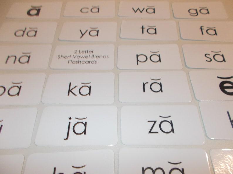100 laminated Rhyming Word Flashcards  Toys & Games j5media de