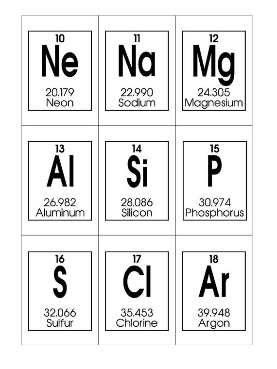 photo about Periodic Table Flash Cards Printable named Periodic Desk of Resources Printable Flashcards. Chemistry Flashcards. Homeschool and science investigate playing cards.