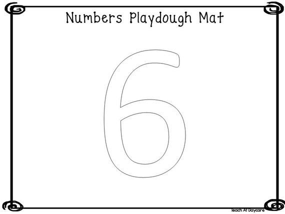 graphic regarding Printable Numbers named 21 Printable Figures Enjoy Dough Mats Worksheets. Quantities 0-20. Preschool-Kindergarten Quantities and Math.