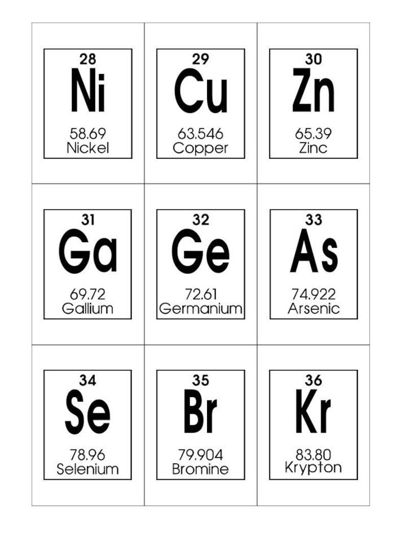 photograph about Printable Element Cards referred to as Periodic Desk of Aspects Printable Flashcards. Chemistry Flashcards. Homeschool and science investigate playing cards.