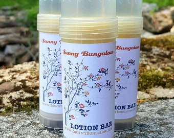 BIG Dragnon's Blood All Natural Solid Lotion Bar with Shea Butter and Organic Beeswax in Twist Up Tube