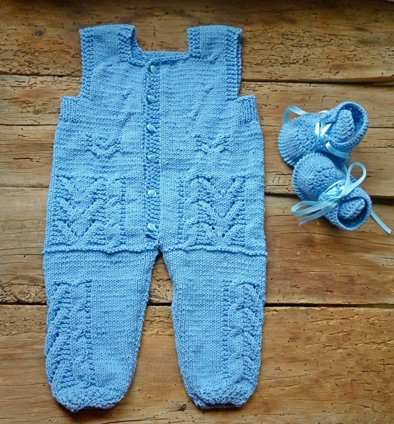 1a7c144bb Tejido de ropa de bebé mono muchacho azul de recién nacido