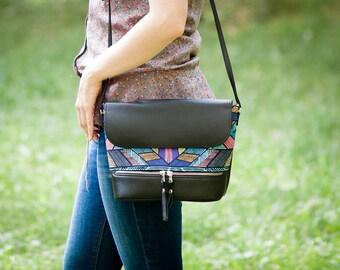Crossbody bag Shoulder bag Handbag Gift for her Gift for wife Small bag Crossbody purse Messenger bag Travel bag Women bag Vegan bag