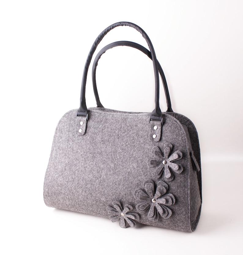 d1f9e5181d Felt bag Handbag Ladies handbag Felted purse Felted handbag