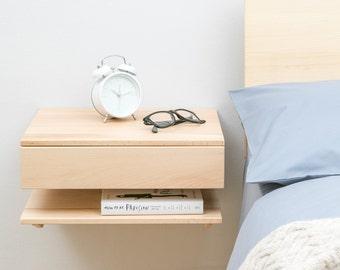 Floating Bedside Table - Large