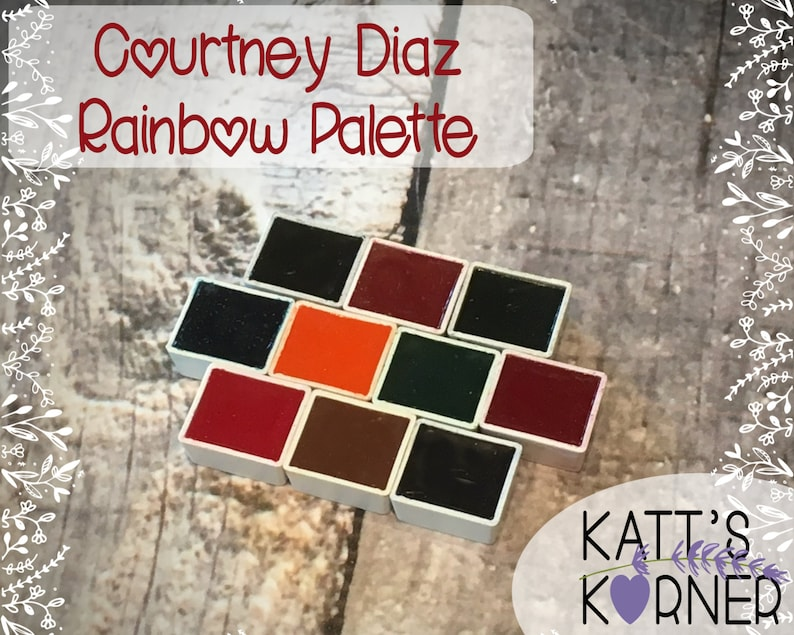 Courtney Diaz of Little Raven Ink's  Portable Rainbow Set image 0