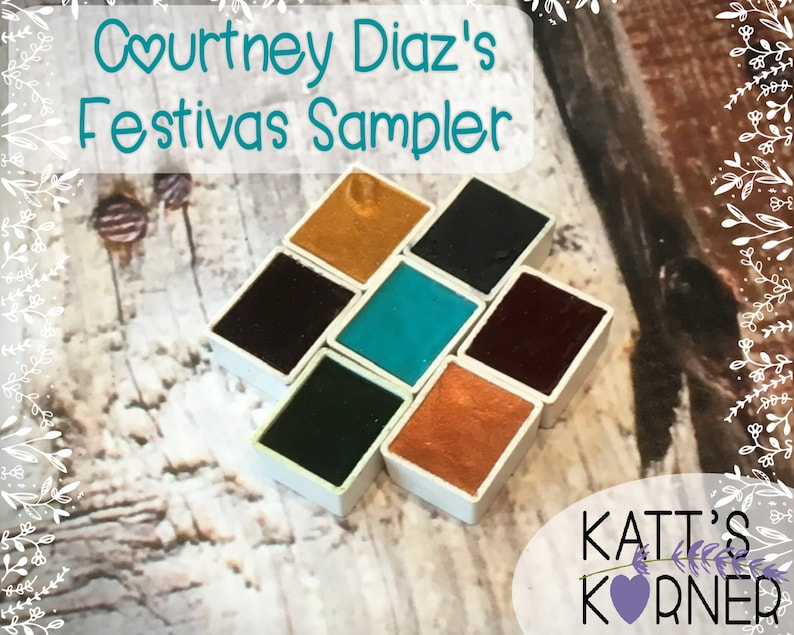 Courtney Diaz of Little Raven Ink's  Festivas Sampler  image 0