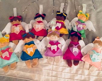 Tooth Angels (Tooth Fairy Pillow)