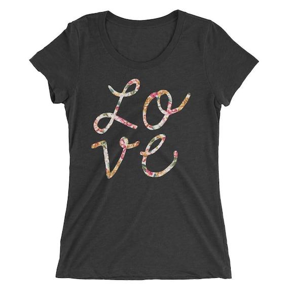 Love Tshirt - Love T Shirt - Womens T Shirt