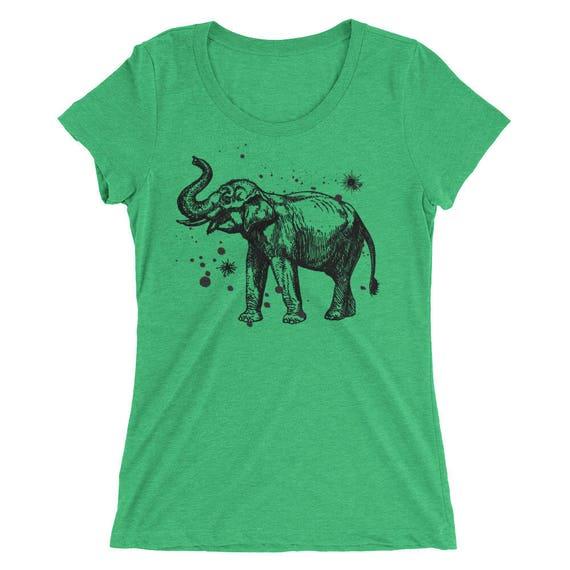 279d4bcefd9ea5 Elephant Tshirt Elephant T Shirt Elephant Tee Graphic