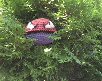 Voltorb inspired plushie