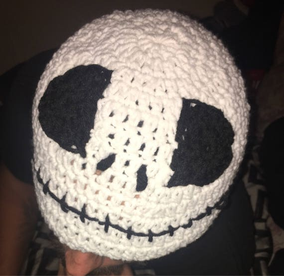 Jack Skellington Crochet Hat Etsy