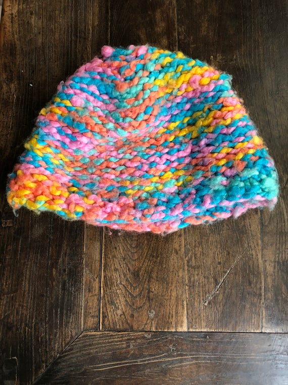 Colors of Rainbow Winter Hat  8baaa6645a3