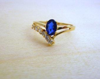 14k GOLD Filled gemstone ring swarovski crystal ring, thin gold ring minimalist jewelry multistone birthstone ring women jewelry