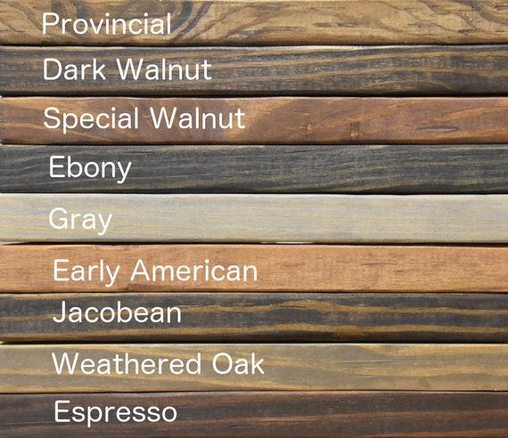 Rustic Wood Samples, Rustic Furniture Stain