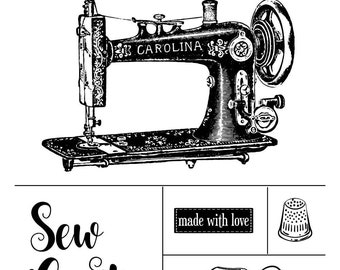 "Magnolia Design Co-Sew Crafty-Reusable Adhesive Silkscreen Stencil 12"" x 18""-Chalk Art DIY"