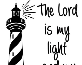 "Magnolia Design Co-Lord is my Light-Reusable Adhesive Silkscreen Stencil 8.5"" X 11""-Chalk Art DIY"