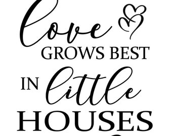 "Magnolia Design Co-Love Grows Best-Reusable Adhesive Silkscreen Stencil 8.5"" x 11""-Chalk Art DIY"