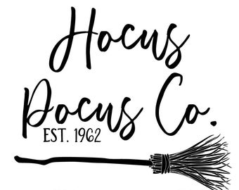 "Magnolia Design Co-Hocus Pocus-Reusable Adhesive Silkscreen Stencil 8.5"" X 11""-Chalk Art DIY"