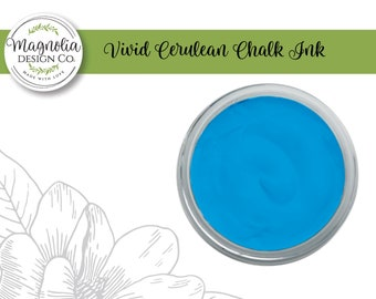 Magnolia Design Co-Inks Vivid Cerulean Chalk Ink-Chalk Art DIY