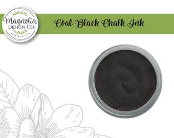 Magnolia Design Co-Inks Coal Black Chalk Ink-Chalk Art DIY
