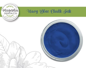 Magnolia Design Co-Inks Navy Blue Chalk Ink-Chalk Art DIY