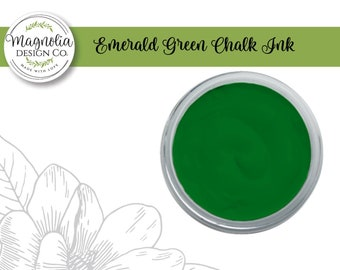 Magnolia Design Co-Inks Emerald Green Chalk Ink-Chalk Art DIY