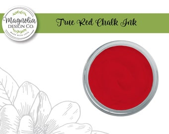 Magnolia Design Co-Inks True Red Chalk Ink-Chalk Art DIY