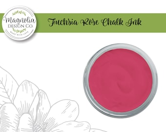 Magnolia Design Co-Inks Fuchsia Rose Chalk Ink-Chalk Art DIY